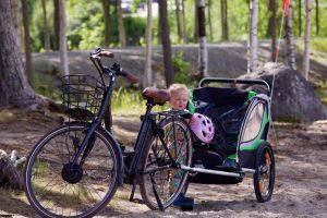 Cykelanhænger til glæde for hele familien