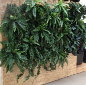 Pep arbejdspladsen op med flotte plantevægge