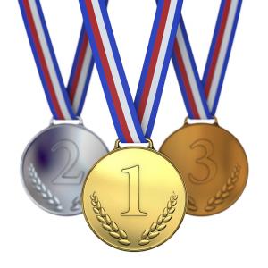 Køb flotte medaljer til din næste sportsbegivenhed