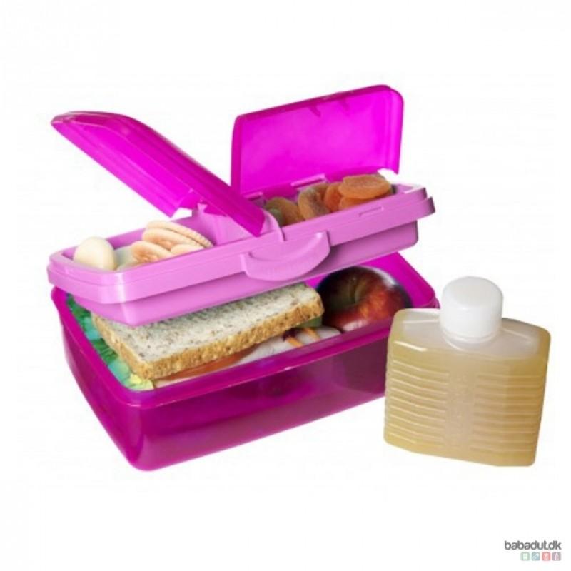 Din madpakke er bare mere lækker, hvis du bruger Snack Attack Duo fra Sistema